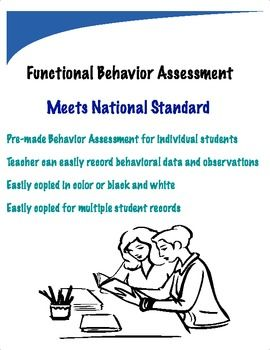 Functional Behavior Assessment Meets Standard Criteria  Info