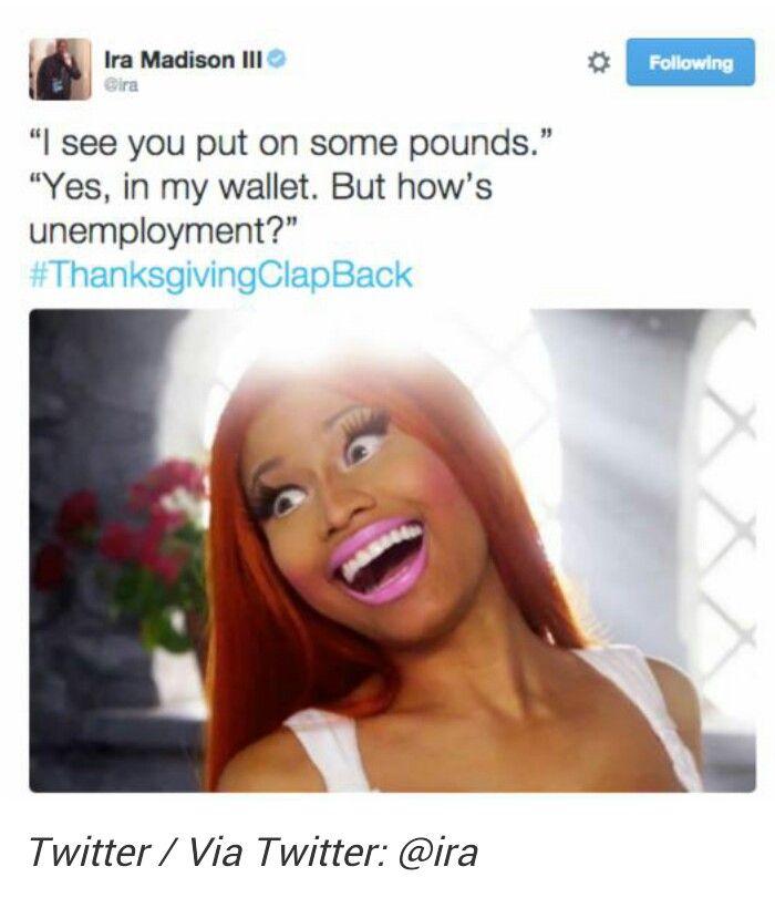 Throwing Massive Shade Thanksgiving Clapback Funny Black Memes Thanksgiving Clap Back Memes