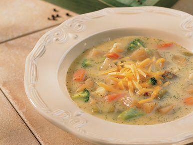 Slow cooker vegetable chowder
