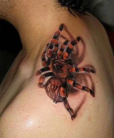 1074d6b45 Scary Spider Tattoos! Tattoo'd Lifestyle Magazine! Check out all the best spider  tattoos! www.tattoodlifestyle.com #tattood #tattoo #spiders #magazine ...