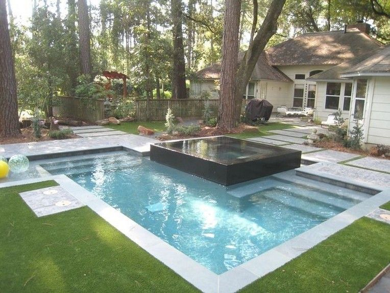 53 Extraordinary Custom Build Plunge Pool Ideas Page 23 Of 53 In 2020 Cool Swimming Pools Small Swimming Pools Pool Landscaping