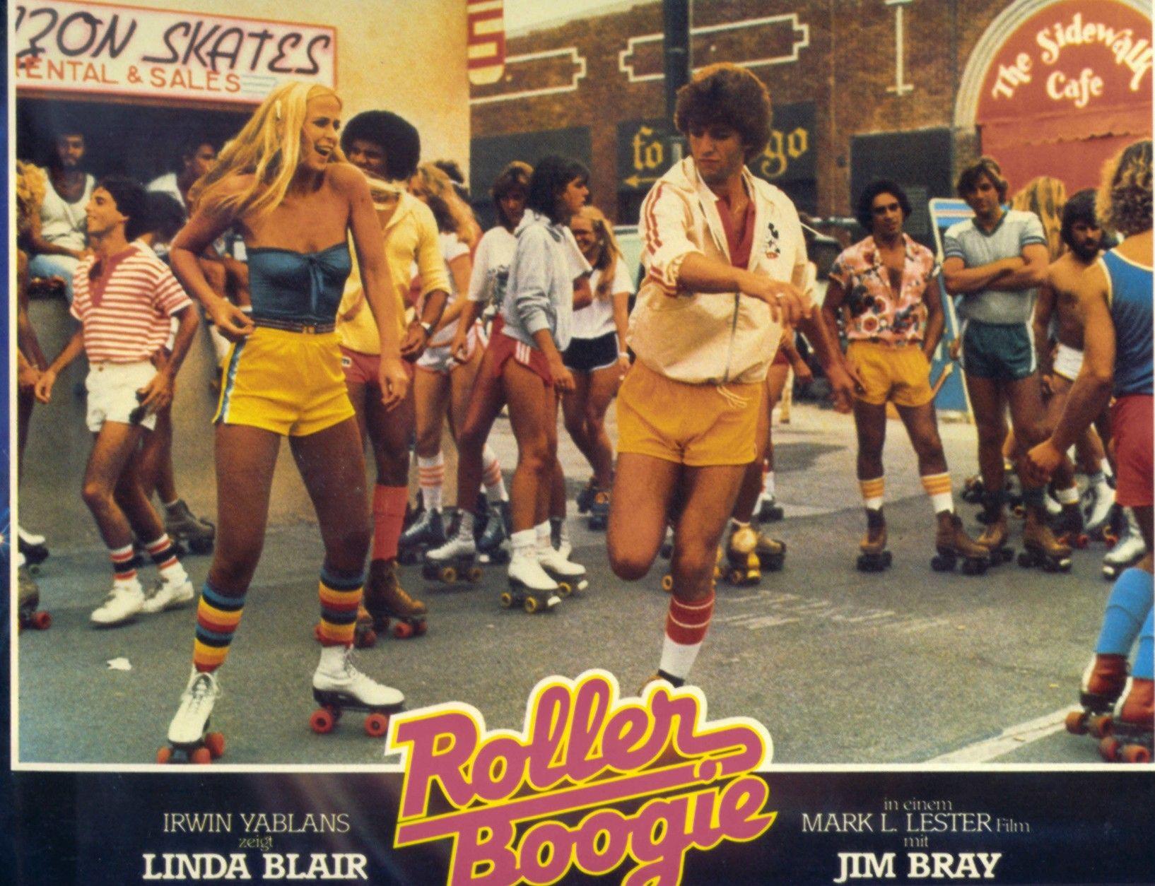 Roller Skate Disco 1970s 1980s Disco roller skating