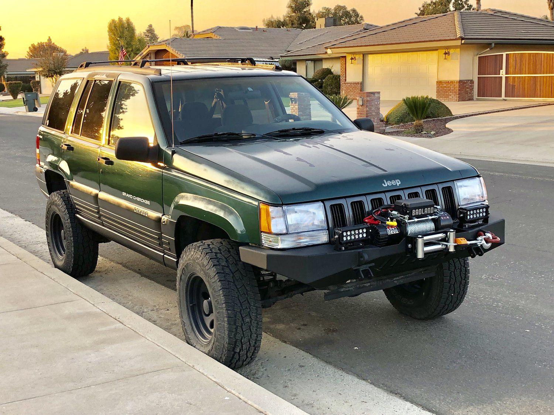 Jcr Offroad Diy Zj F Wn Diy Front Winch Bumper For 93 98 Jeep Grand Cherokee Zj Jeep Grand Cherokee Zj Jeep Zj Jeep Grand Cherokee