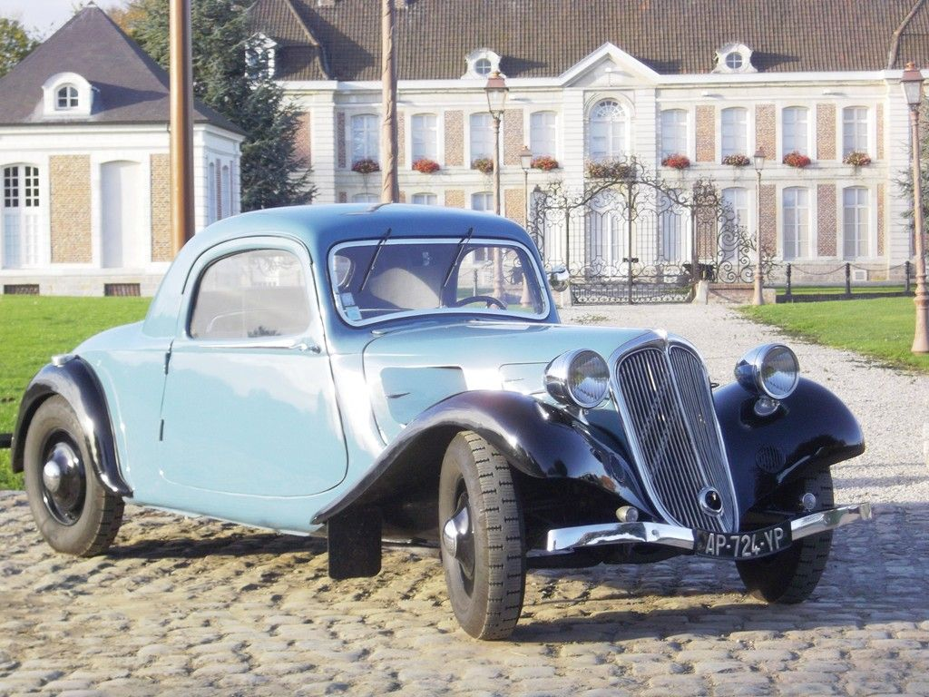citro n traction avant coup 1934 autres vehicules other vehicles. Black Bedroom Furniture Sets. Home Design Ideas