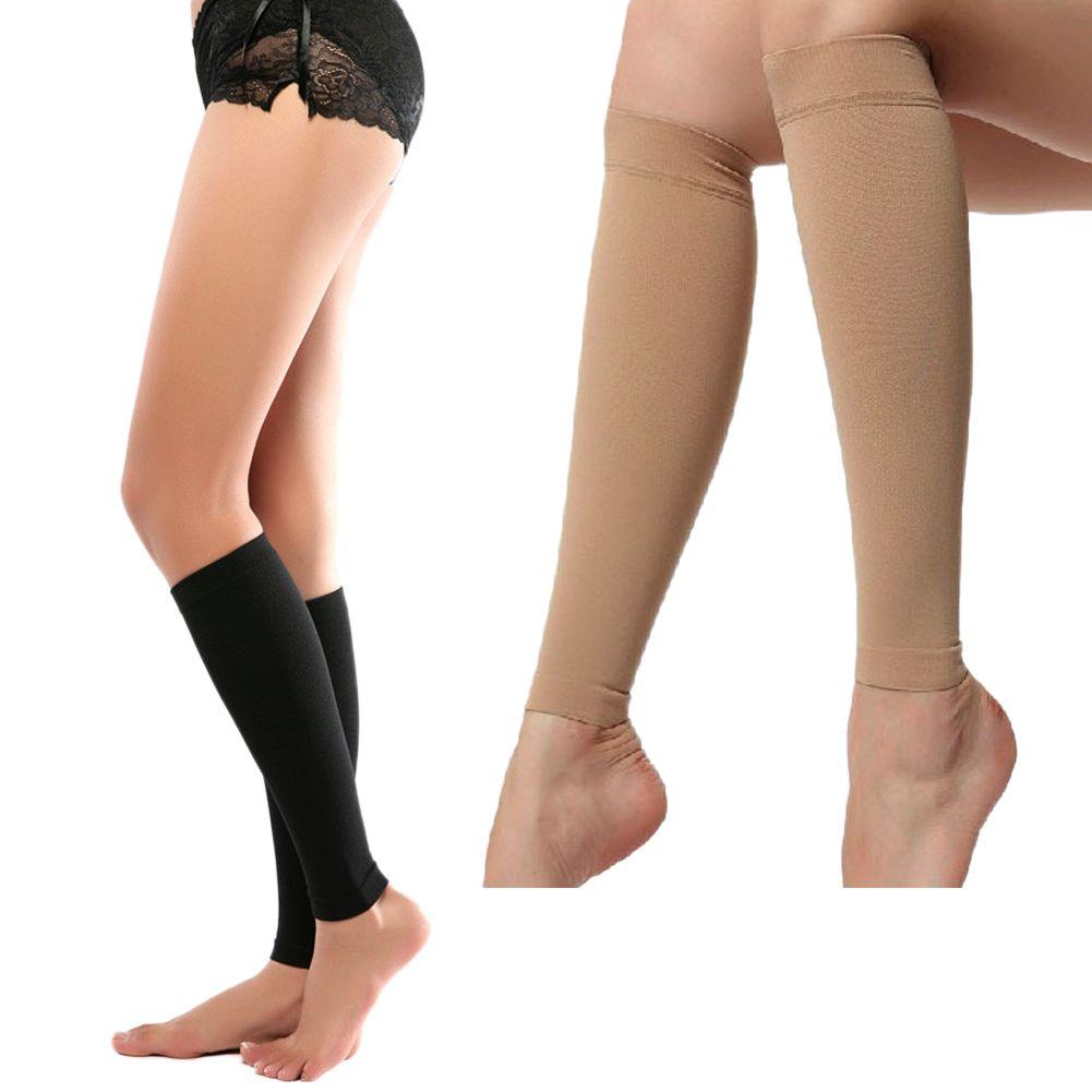 Calorie Off Slim Up Calf Stovepipe Socks Leg Warmer Body Shaper Socks Leggings