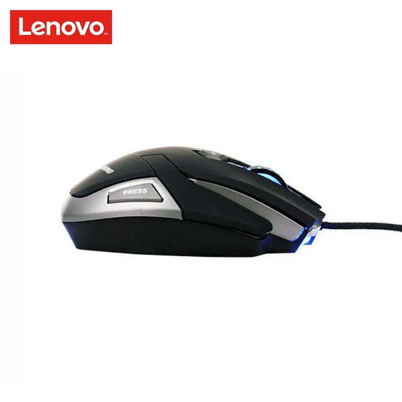 LENOVO M600 Wired Mouse 3200DPI USB Gaming Mice Electric Mouse for