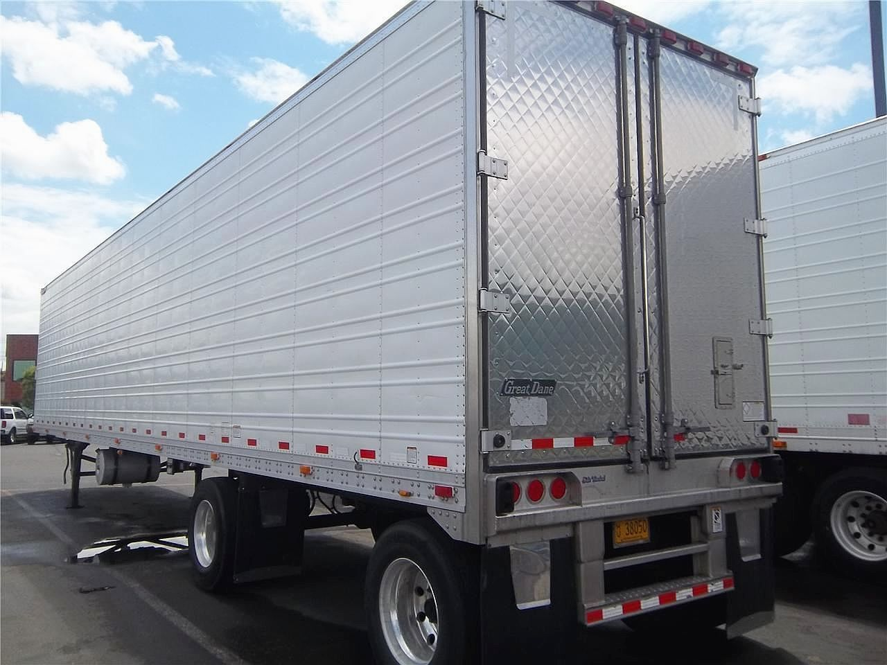 Trucking in the us is picking up manufacturers even have a backlog of orders for new trailers