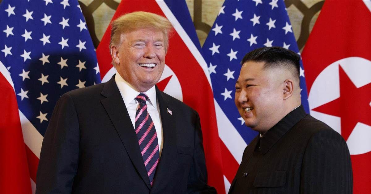 Sanders: Trump and Kim Jong Un agree on assessment of Biden https://www.nbcnews.com/politics/meet-the-press/sanders-trump-kim-jong-un-agree-assessment-biden-n1010386