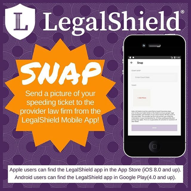 Speeding Ticket App >> Be Prepared For Any Event By Downloading The Legalshield Mobile App