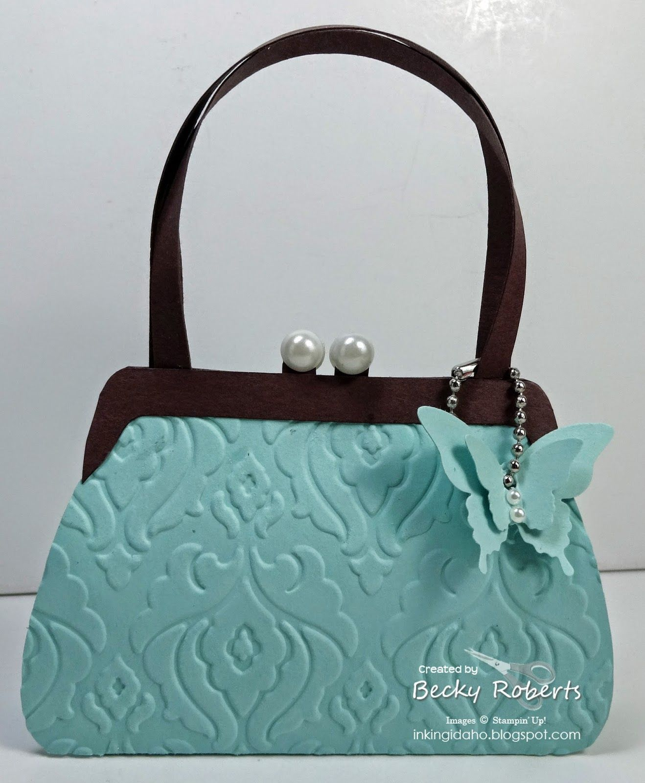 Paper Purse Display Part 2 | Bags and Baskets | Pinterest | Purse ...