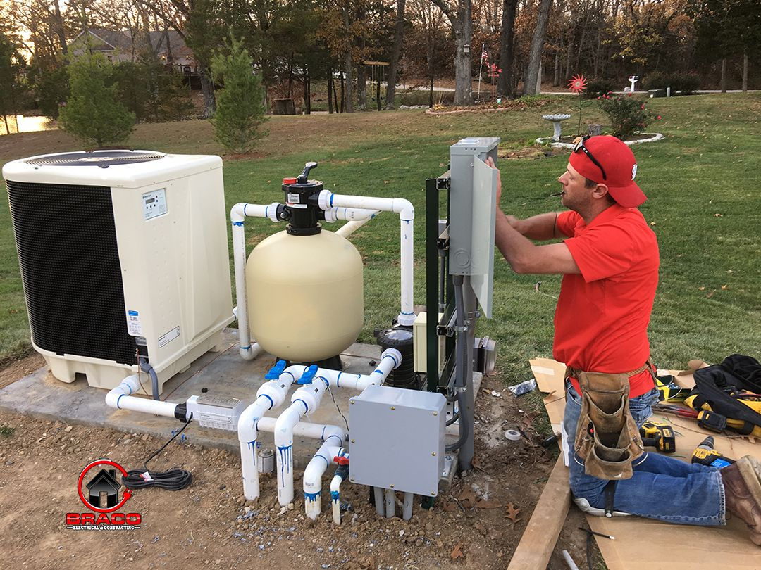Pool Pump & Heater in Wright City, Missouri Wire up a new