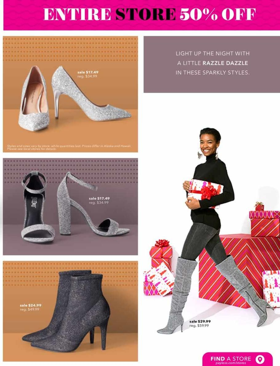 Payless Shoes Black Friday 2018 Ads
