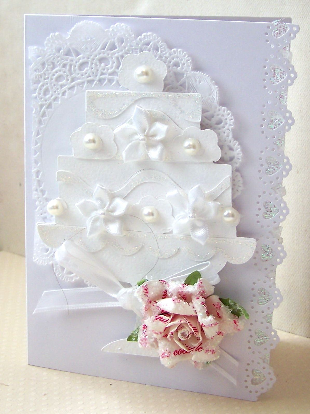 How to scrapbook wedding cards - Card Wedding
