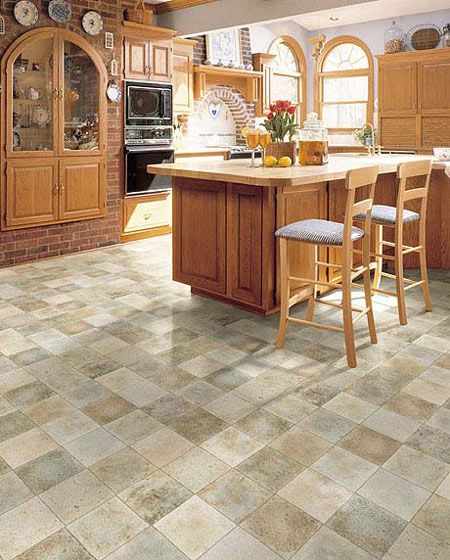 kitchen flooring idea versatile by domco vinyl flooring - Vinyl Kitchen Flooring Ideas