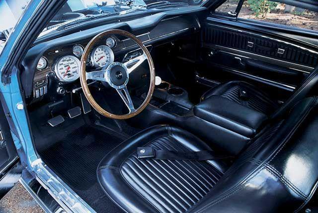 1968 ford mustang fastback interior - 1969 Ford Mustang Fastback Interior