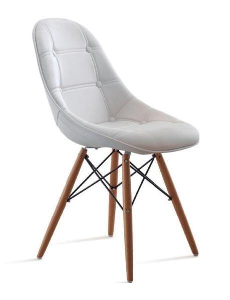 Křeslo Weelko REST do čekacích prostor - bílé - Weelko | Svět kadeřnictví