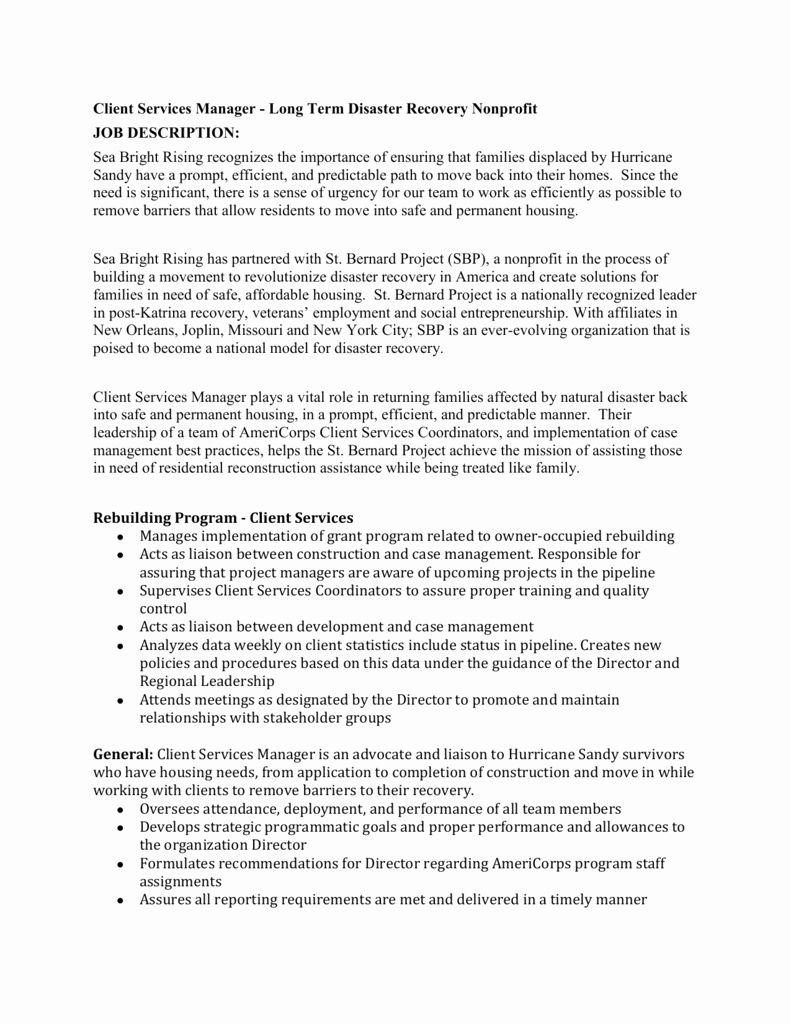 Case Manager Job Description Resume Unique Disaster Case Manager Job Description All Job Description Case Management Job Resume