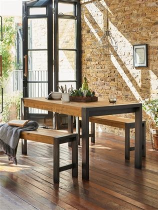 Buy Hudson Bench Set From The Next Uk Online Shop Dining Room