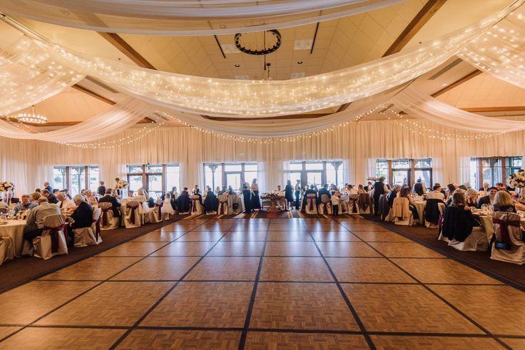réception de mariage lumières scintillantes et mousseline de tai réception de mariage lumières scintillantes et mousseline de tai ...,