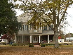 Bush House - two-story Colonial Revival style house was built in 1912