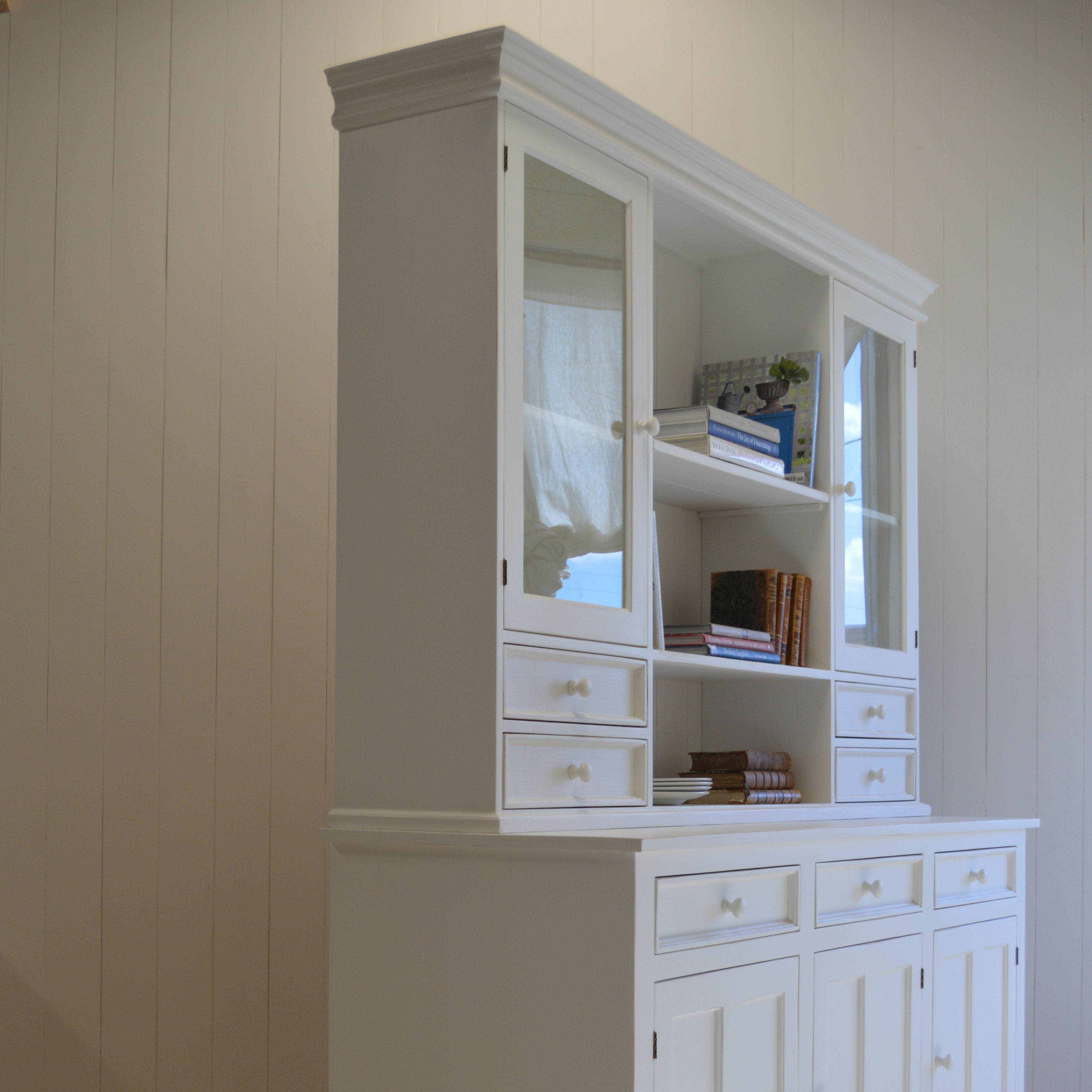 London Kitchen Dresser Ben. Mooreu0027s Simply White
