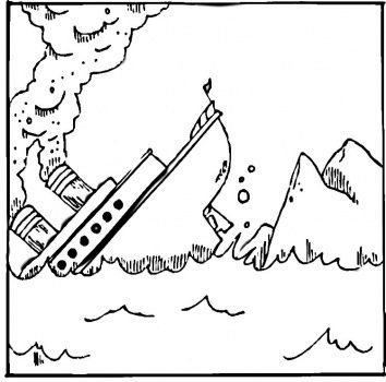 titanic coloring pages for kids to print Titanic coloring page