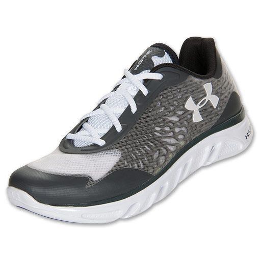 Under Armour Men's Running Shoes Spine Lazer White/Charcoal/Grey
