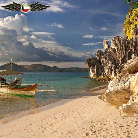 جاء في الترتيب الاول 1 Palawan Island Philippine 1 جزيرة بالاوان الفلبين بالاوان هي جزيرة ومقاطعة في الفلبين عاصمتها هي بور Outdoor World Water