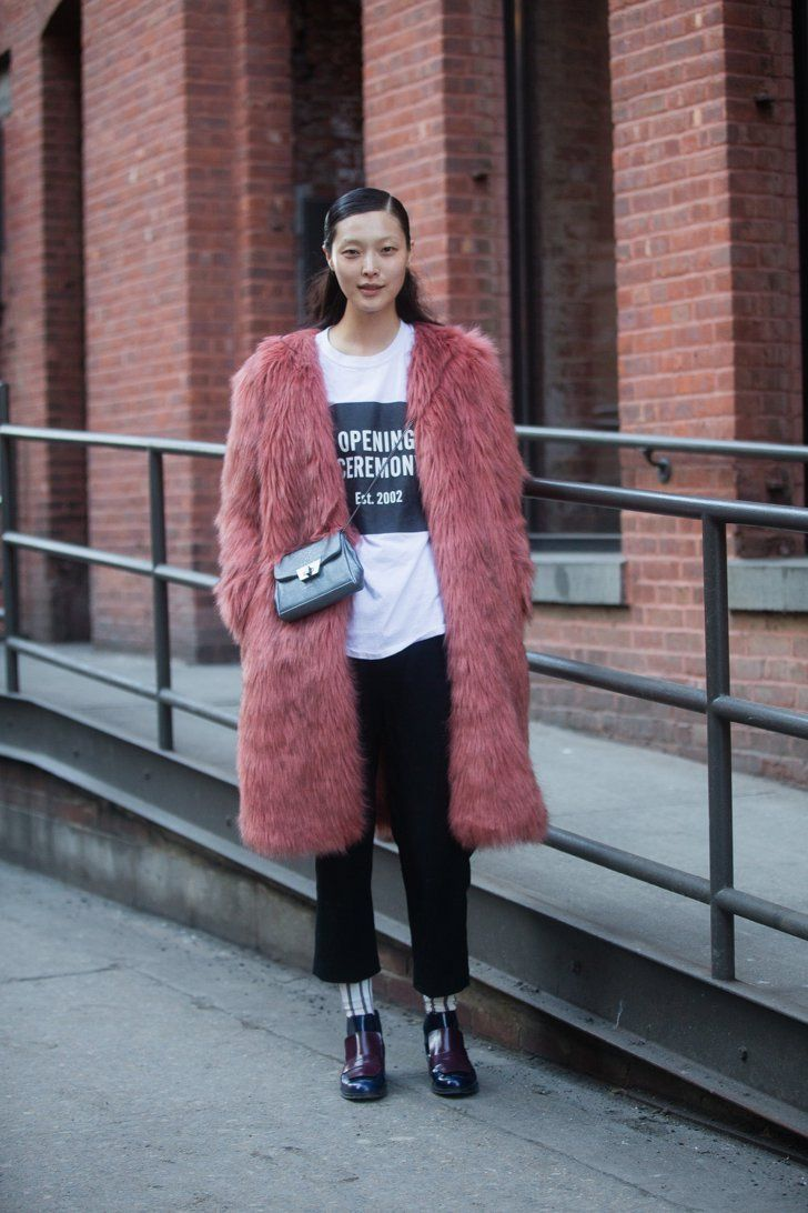 Pin for Later: Street Style bei der New York Fashion Week Tag 2