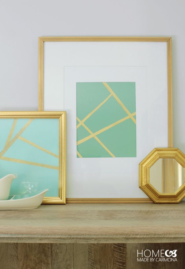5 easy diy wall art hacks this is so clever you would never know
