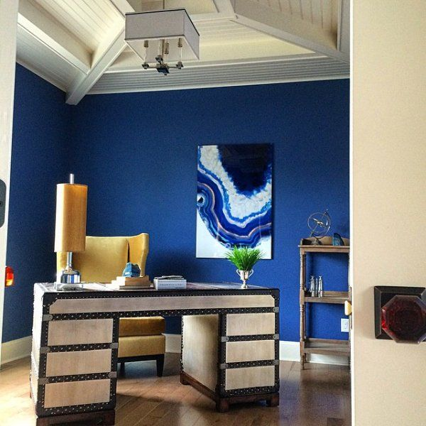 memehillstudio s luxe blue instagram project home decor on home office color trends id=11932