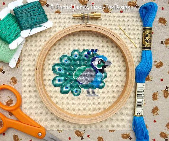 Baby ORANGO Design cross stitch chart DA RIVISTA