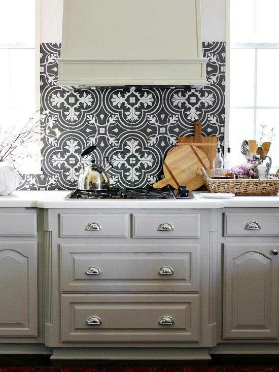 Creative Backsplash Ideas Mosaic Tile Backsplash Kitchen Mosaic Tile Kitchen Painted Kitchen Cabinets Colors