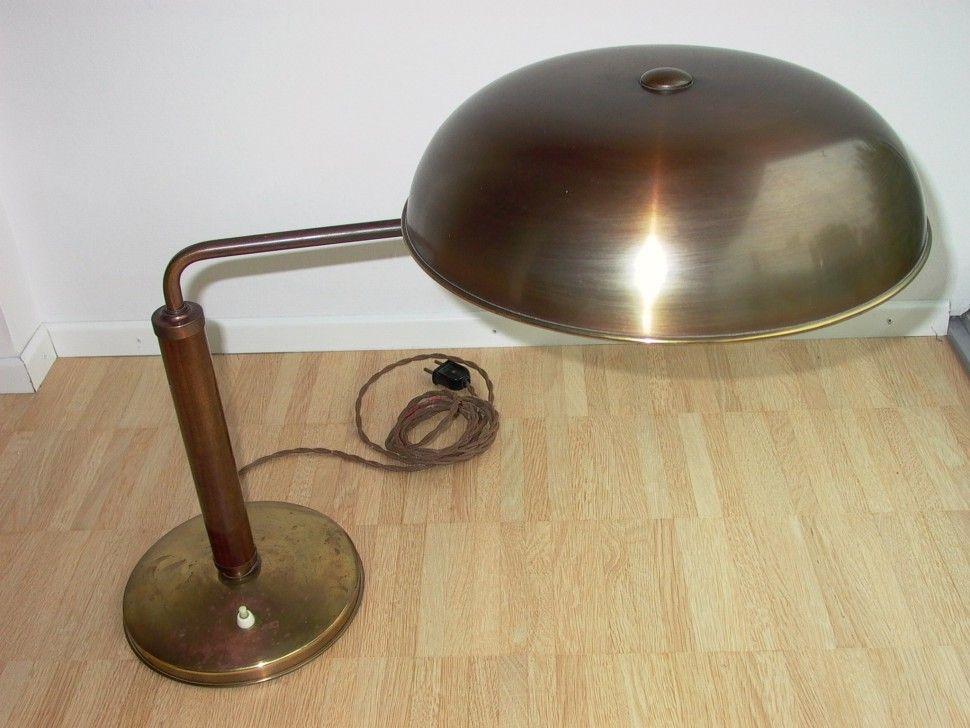 Bauhaus Tischlampe AMBA Alfred Mller