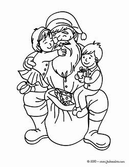 image result for mickey santa claus coloring pages