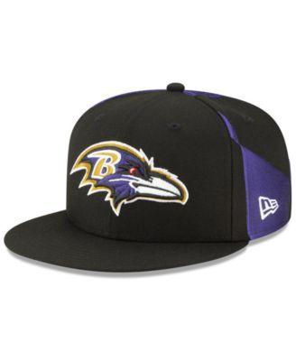 af6a3147e New Era Baltimore Ravens Draft 9FIFTY Snapback Cap - Black ...