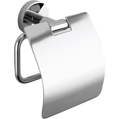 AGM Home Store Wall Mount Toilet Paper Holder with Lid #toiletpaperrolldecor