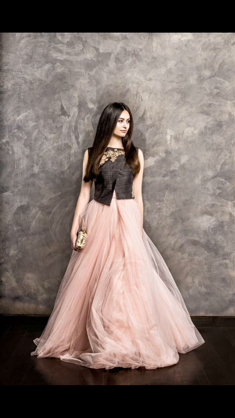 Simple Yet Elegant Indian Outfits Flowy Gown Gowns
