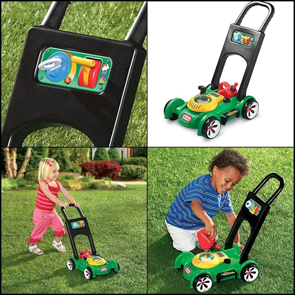 Gas 'n Go Mower Toddler Child Preschool Toys Pretend Play