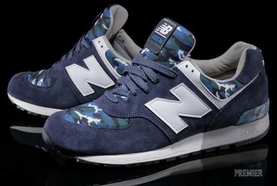 "New Balance 576 - Navy ""Camo"""