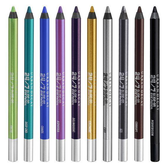 urba decay 24/7 in color eye pencils