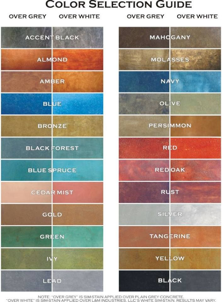 Valspar semi transparent concrete stain colors for  natural stone look outdoor living pinterest and also rh
