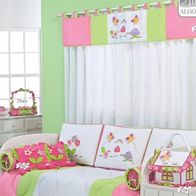 Concursosingerchile una hermosa decoraci n para la habitaci n de una ni a hogar pinterest - Decoracion habitacion nina ...