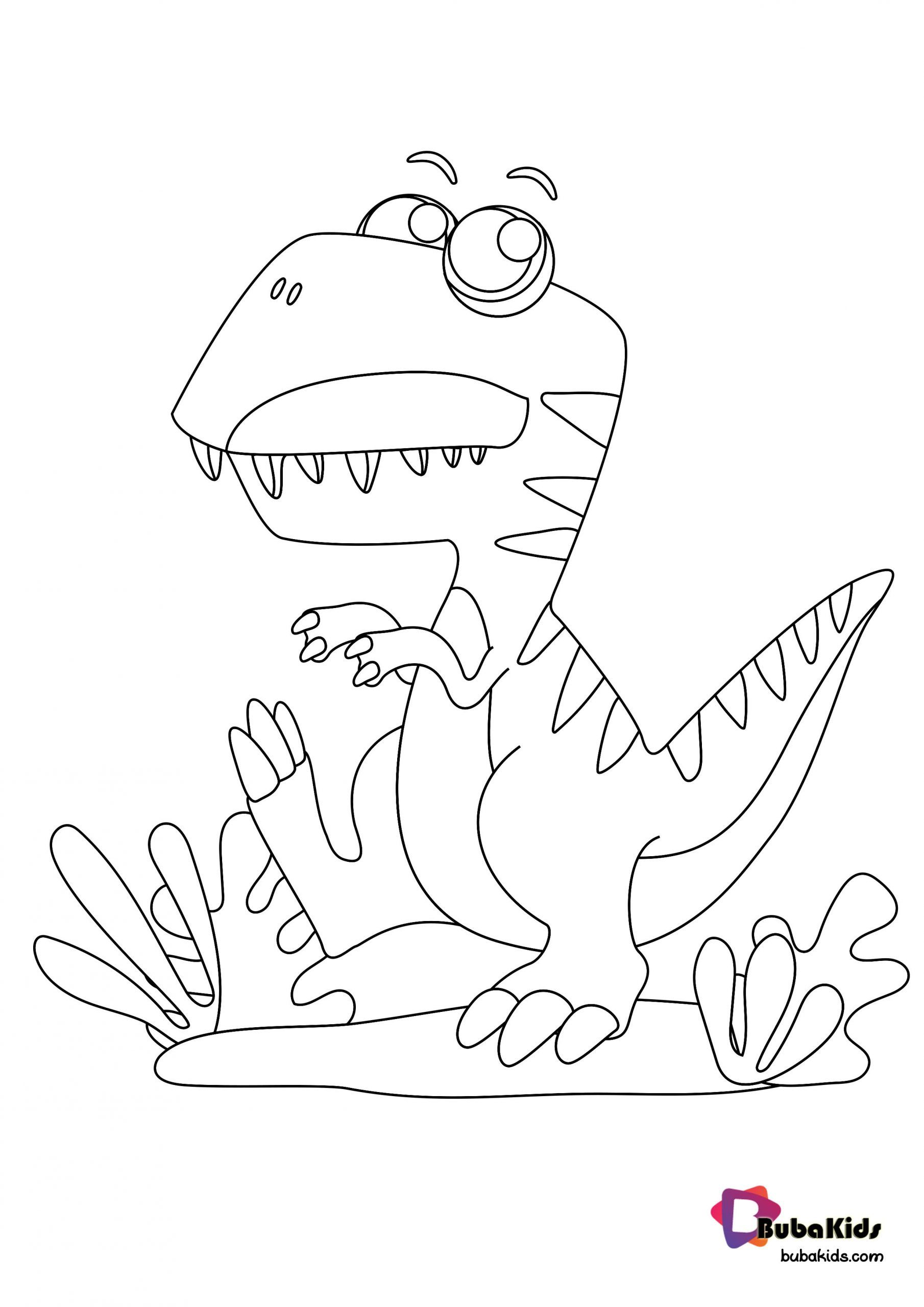 Cute T Rex Coloring Page Printable For Kids Collection Of Dinosaurs Coloring Pages For Teenage Printable Tha In 2020 Dinosaur Coloring Pages Coloring Pages Cute T Rex