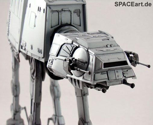 Star Wars: AT-AT, Modell-Bausatz, http://spaceart.de/produkte/sw046.php