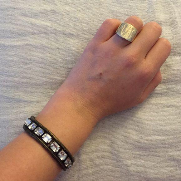 Loren Hope Clara Bracelet In Silver Ox