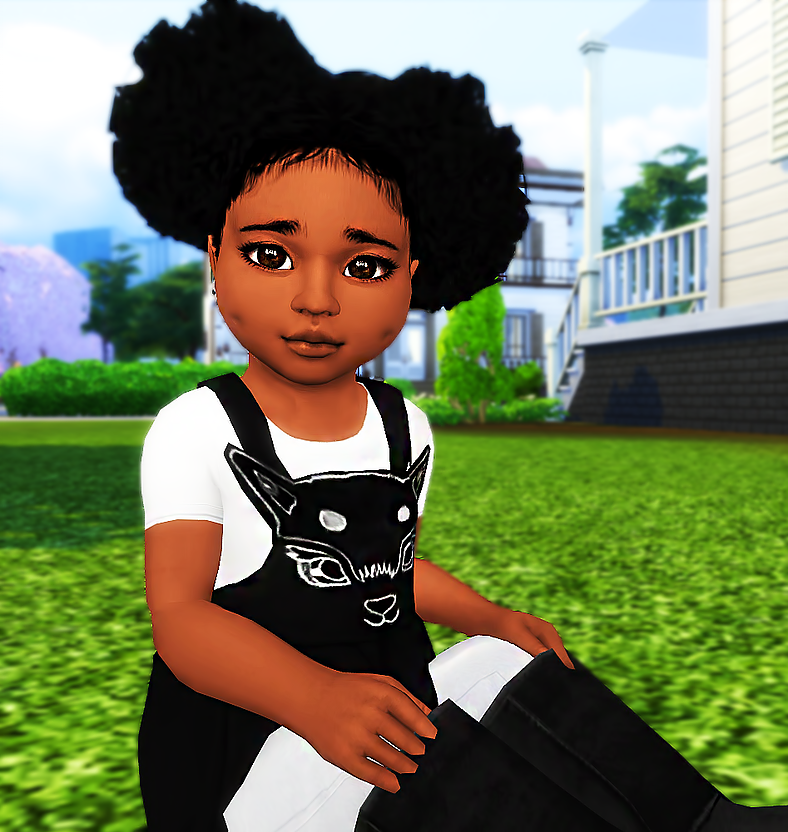 Ebonix Mochasims Curly Puffs Sims Hair Sims 4 Cc Skin Sims 4 Toddler
