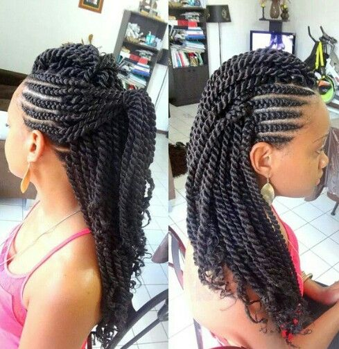 Fabulous Side mohawk by Dy'A Coiffure | NATHIFA'S STYLE | Pinterest  JE62