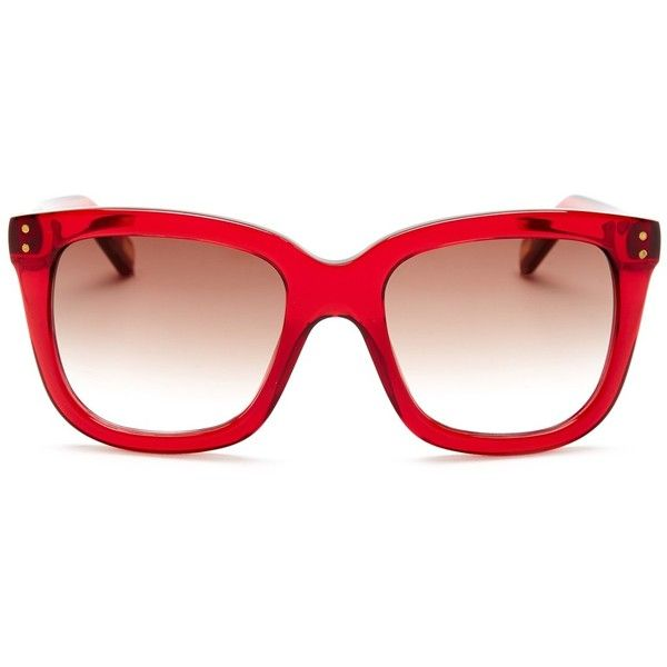 089bec97af5a6 Marc Jacobs Women s Oversized Cat Eye Sunglasses ( 100) ❤ liked on Polyvore  featuring accessories
