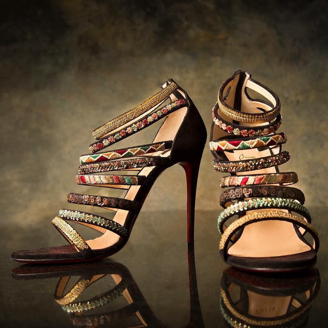 73eeae203e7b Meet Christian Louboutin and Sabyasachi Mukherjee s Heavenly Creations •  Sassy Indian Fashion